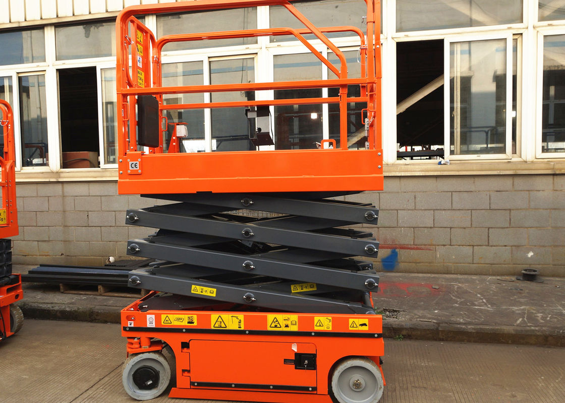 Self Propelled Scissor Lift Aerial Work Platform Platform Lifting Equipment